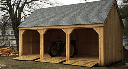 Custom Shed in MA