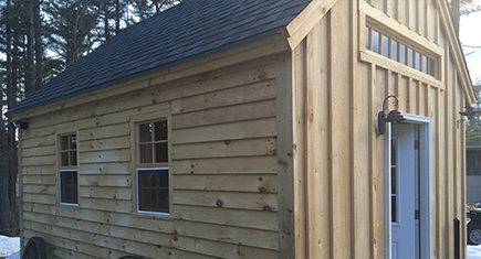 Shed Built in Massachusetts