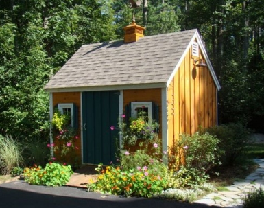 Custom Built Shed in Massachusetts