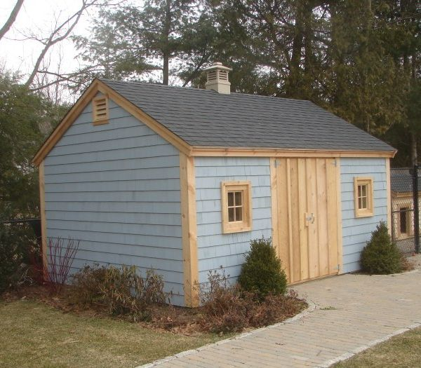 The Sagamore Custom Built Shed in New England