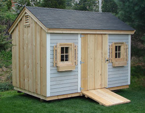 Ponderosa Custom Built Shed in Massachusetts