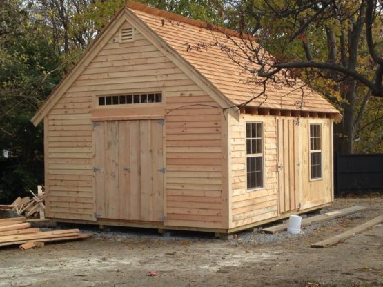 The Hingham Custom Built Shed in New England