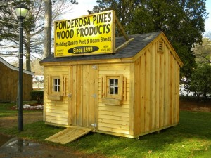 January Special on Sheds in MA